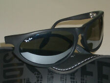 1d807571892 B L RAY BAN W2323 MATTE BLK G31 MIRROR LENS SKYLINE WRAPs SUNGLASSES w CASE  NEW