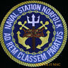 US NAVAL STATION NORFOLK PATCH NA US NAVY VETERAN NAS USS PIN UP WING GIFT WOW