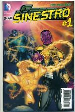 GREEN LANTERN 23.4 3-D Variant Lenticular Cover SINESTRO #1 3D FIRST PRINT