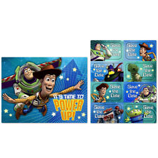 Toy Story Game Time  Party Supplies Invitations