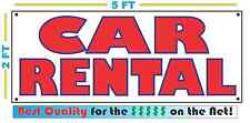 CAR RENTAL Banner Sign NEW 4 Car Truck SUV Van Auto Repair Tire Shop