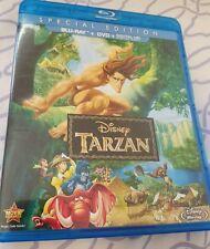 Tarzan (Blu-ray/DVD, 2014, 2-Disc Set)