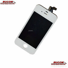 iPhone 4S Display Digitizer Touch Sreen mit Rahmen Front glas LCD Cover weiss