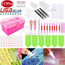 117pcs 5D Diamond Painting Tools Embroidery Cross Stitch Kit Art Accessories Pen