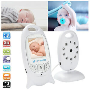 Wireless Digital Babyphone mit Kamera Video Einschlafmusik Monitor Farbe LCD