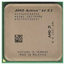 AMD Athlon 64 X2 5600+ Brisbane 2.9GHz 2 x 512KB L2 Cache Socket AM2 65W Dual...