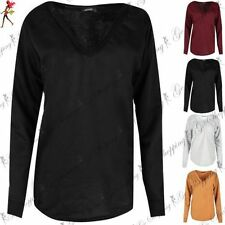 Unbranded Polyester V Neck Hoodies & Sweats for Women