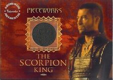 Scorpion King Pieceworks Costume Card PW-3 Steven Brand from Inkworks 2002