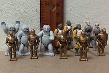 Star Wars Micro Machines Troop Builder Bossk C-3PO Muftak Lobot Gloob figure lot