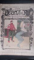 Revista Jean Que Rit N º 354 1907 Journal Demuestra que Aparecen El Viernes ABE
