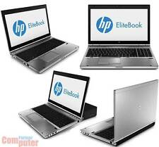 "HP EliteBook 8570p Core i5 2x2,8GHz 15"" 1600x900 4GB 320GB Win10 WEBCAM RS-232"