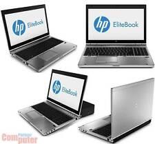 "HP EliteBook 8570p Core i7 2,9GHz 15"" 1600x900 4GB 320GB Win7 WEBCAM COM BT DP"
