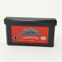 Pokemon Mystery Dungeon Red Team Rescue (Nintendo GameBoy Advance GBA) Saves OEM