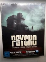PSYCHO LEGACY COLLECTION BLU-RAY DELUXE LIMITED EDITION, ENGLISH, GERMAN AUD,SUB