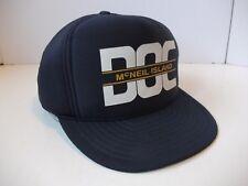 McNeil Island DOC Corrections Prison Hat Vintage Blue Snapback Rope Baseball Cap