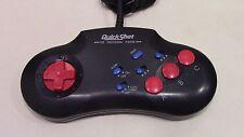 QuickShot Controller for Sega Genesis System QS-183 Turbo Auto Tested