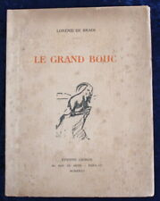 Envoi auteur : Lorenzi de Bradi à Peretti della Rocca - Le Grand Bouc - 1932