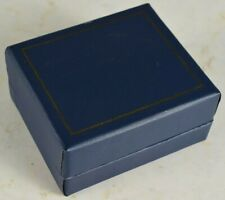 Old BD Howes and Son Lined/Fancy Jewelry Box Interior: 63x53mm