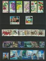 MNZ79) New Zealand 1999 Stamp Sets CTO/Used