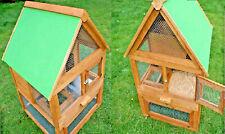 Gabbia nido conigliera/pollaio in legno volatili criceti animali