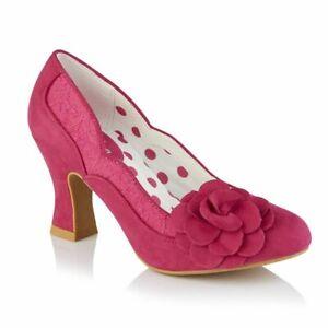 Ruby Shoo Women's Heeled Court Shoe Chrissie Fusia