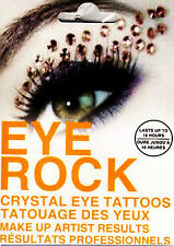 EYE ROCK CRYSTAL Temporary Eye Make Up Tattoo Stickers Type 3