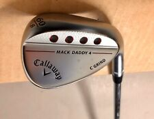 Callaway Mack Daddy 4 Milled Wedge 60*-8 C Grind TI S200 Stiff Flex Steel Golf