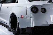 FRP AIMGAIN GT STYLE WIDE AERO REAR FENDER FLARE FOR SKYLINE R35 GTR