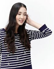 Joules Cotton Blouse Striped Tops & Shirts for Women