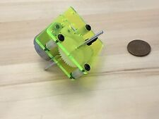1 Piece Yellow neon J205 310 3v 6V DC Dual Shaft Car Toy Reduced Gear Motor c29