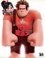 Wreck-It Ralph 3D - Limited Ed. Steelbook [Blu-ray 3D + Blu-ray] New & Sealed!!