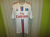 "Hamburger SV Original Adidas Heim Trikot 2014/15 ""Fly Emirates"" Gr.M TOP"
