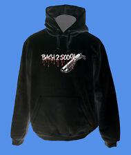 Hoody Kapuzenpullover Back2Scool Gun move2be Schule schwarz M L