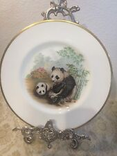 "BOEHM Giant Panda Collection Collector's Plate ""Peace"""