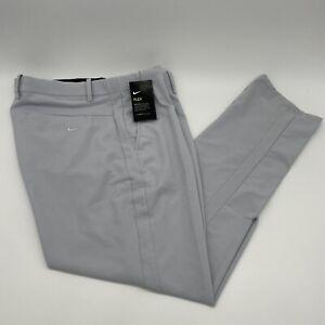 🔥New Mens  Nike Vapor Flex Gray Slim Fit Golf Pants BV0273-042 Sz 40x32 $90