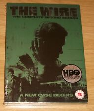 The Wire - Complete Series 2 (DVD, 2005, 5 Disc Set, Box Set) NEW & SEALED