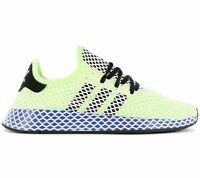 adidas Originals Deerupt Runner Herren Sneaker Gelb EE5662 Freizeit Sport Schuhe