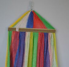 6 Units  - Hammock 2 Layers For Folding Stand (Stand Not Included) MULTI COLOUR