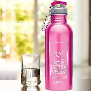 Milton Virtue 750 Stainless Steel Water Bottle, 750 ml, Pink