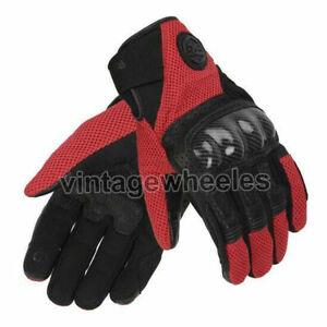 Royal Enfield Windstorm Gloves Black & Red