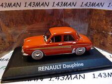 voiture 1/43 atlas voiture de mon père : RENAULT Dauphine rouge