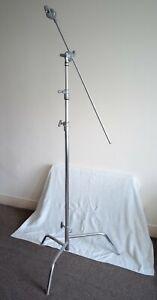Matthews C-Stand with Turtle Base Grip Arm / Boom Kit - Studio Light Stand