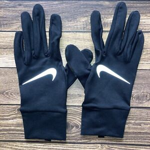 Nike Dry Element Running Gloves 2.0 Women's Medium Black/Silver