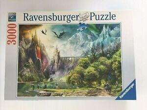 Ravensburger 3000 Piece Jigsaw Puzzle Reign of Dragon No.164622