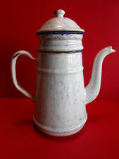 CAFETIERE TOLE EMAILLEE / DECO CUISINE  / COFFEE POT ENEMALLED