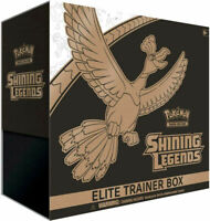 Pokemon Shining Legends Elite Trainer Box Collectible Cards *Factory Sealed*
