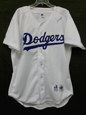 Paul Lo Duca Signed Los Angeles Dodgers MLB Russel Athletic 48 Jersey JSA L45986