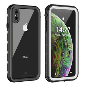 WATERPROOF CASE COVER FOR APPLE IPHONE XR XS MAX SHOCKPROOF W/ SCREEN PROTECTOR