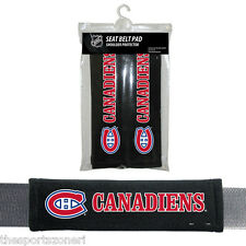 Montreal Canadiens Seatbelt Shoulder Protector Pads