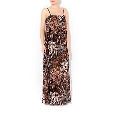 **WALLIS** Animal Floral Printed Chiffon Strappy Summer Maxi Dress UK 14 BNWT